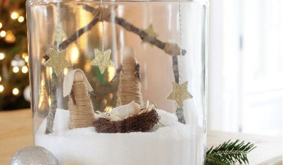 A legszebb saját készítésű karácsonyi betlehemek. NYOMTATHATÓ SABLONNAL!