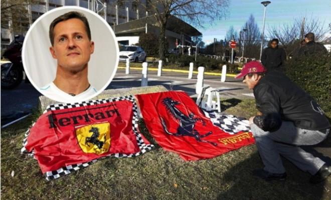 Schumacherről készült megrázó és sokkoló fotókkal házalnak!