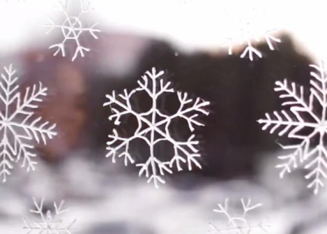 Varázslatos jégvirágok az ablakodra! PRÓBÁLD KI!