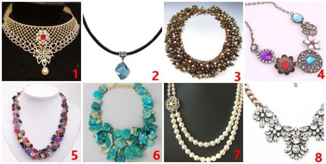 A 8 nyakláncból melyiket választanád legszívesebben? TESZTELD MAGAD!