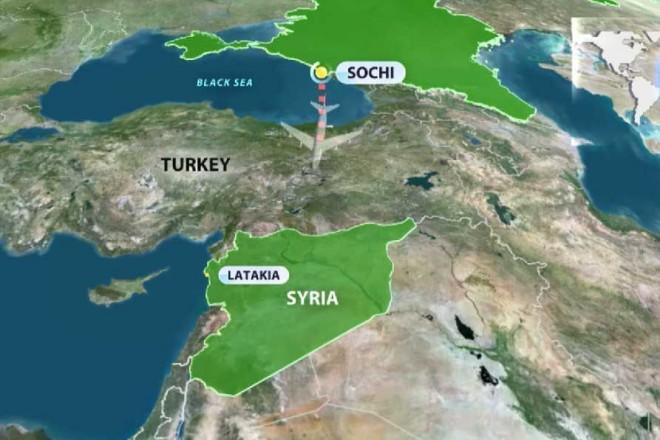 Lezuhant egy Szíriába tartó orosz repülőgép! Terrortámadás is lehetett. Mindenki Putyin reakciójára vár.