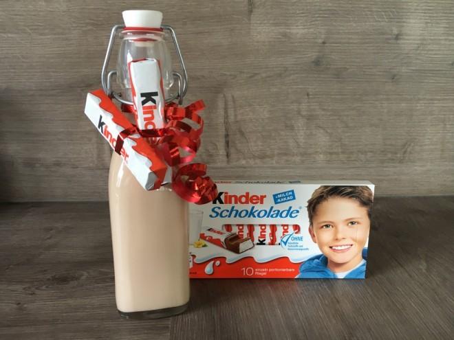 A legfinomabb likőr Kinder csokiból!