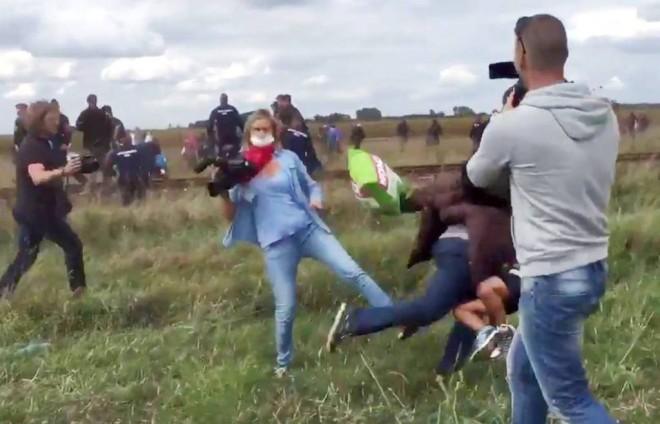 Meglepő ítélet született a menekülteket elgáncsoló operatőr nő ügyében