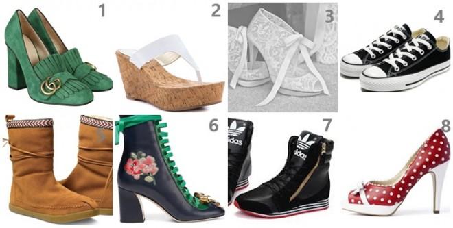 A 8 cipőből melyik áll legközelebb a személyiségedhez? TESZTELD MAGAD!