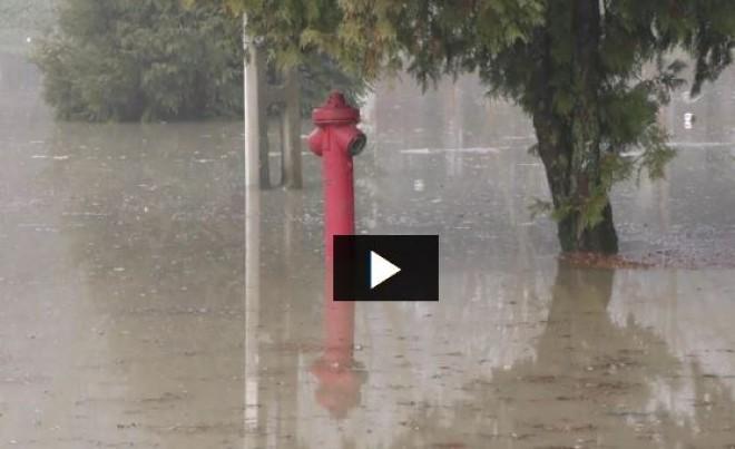 Nyakunkon az özönvíz! Áradnak a folyók, a Tisza már üdülőházakat öntött el.