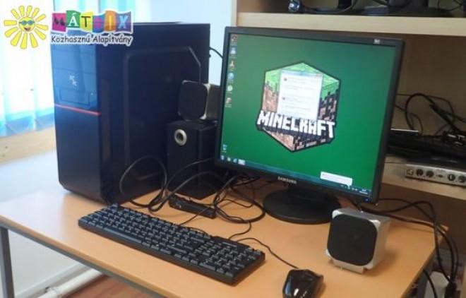 Számítógép rászoruló gyerekeknek