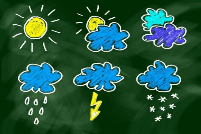 Itt a jövő heti időjárás előrejelzés!