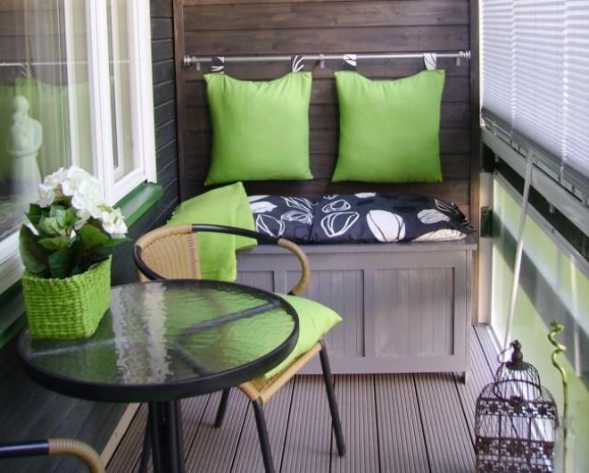 Rendezd át az erkélyed! Ötletbörze, ami a legkisebb erkély átalakításához is jól használható!