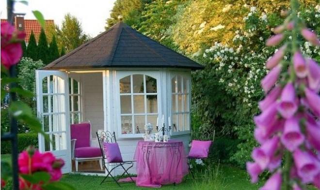 Álomszép kerti pavilonok, amiket akár saját kezűleg is elkészíthetsz!