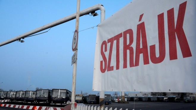 FIGYELEM, 8 napos BKV sztrájk lesz!
