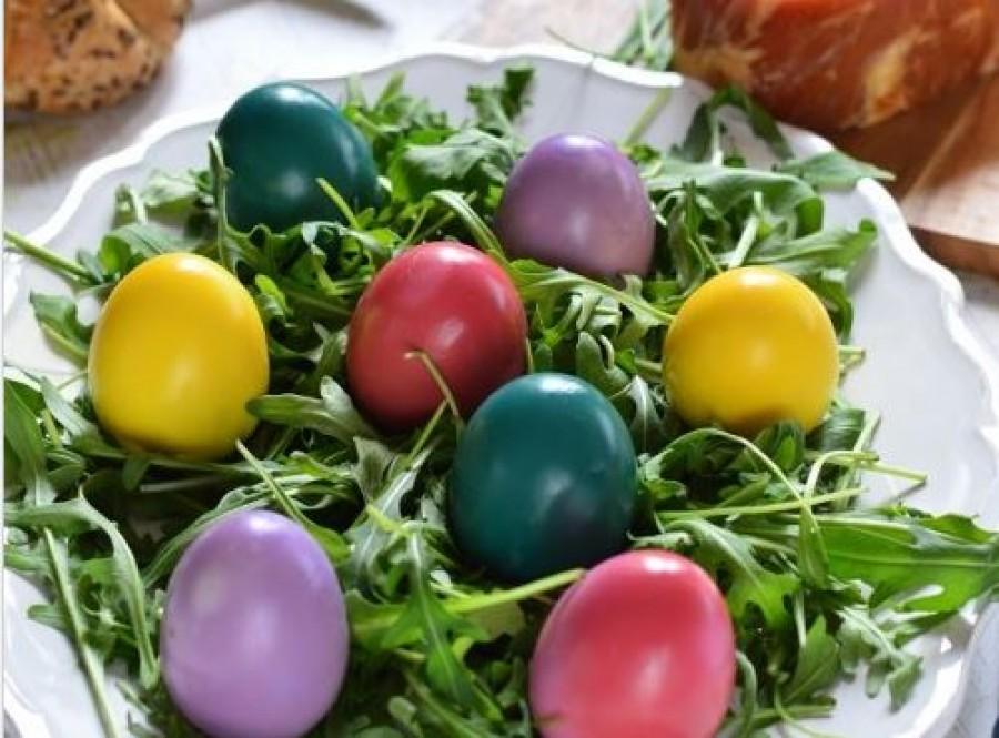 Ehető színes főtt tojások Húsvétra!