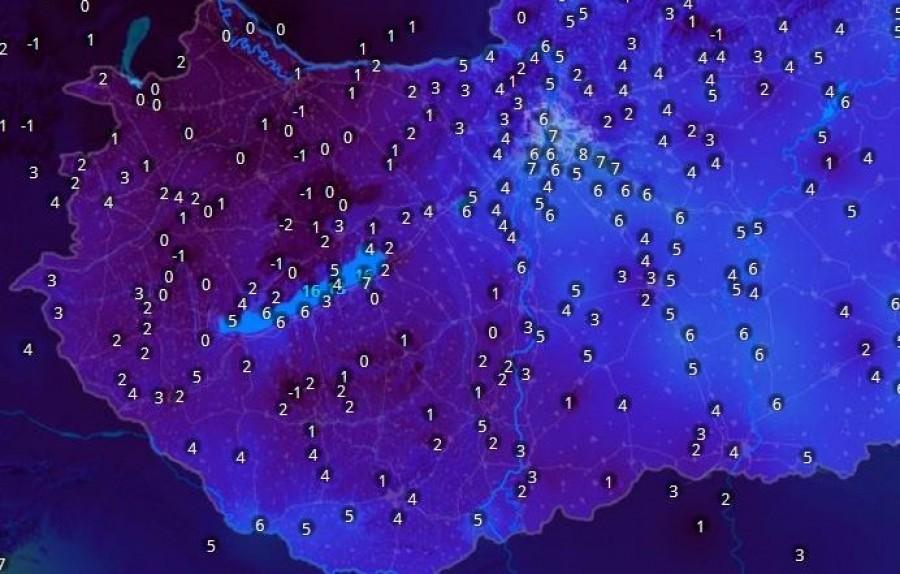 Hihetetlen, hogy május 2.hetében ilyen hőmérsékletre kell ébredni!