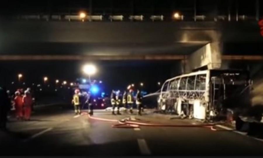 A veronai buszbalesetben érintett cég a minisztériumi pályázat kedvezményezettje