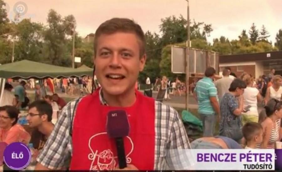 Sokakat érdekel, hogy mi lesz a fiatal riporter sorsa, aki élő adásban ittasan jelentkezett be