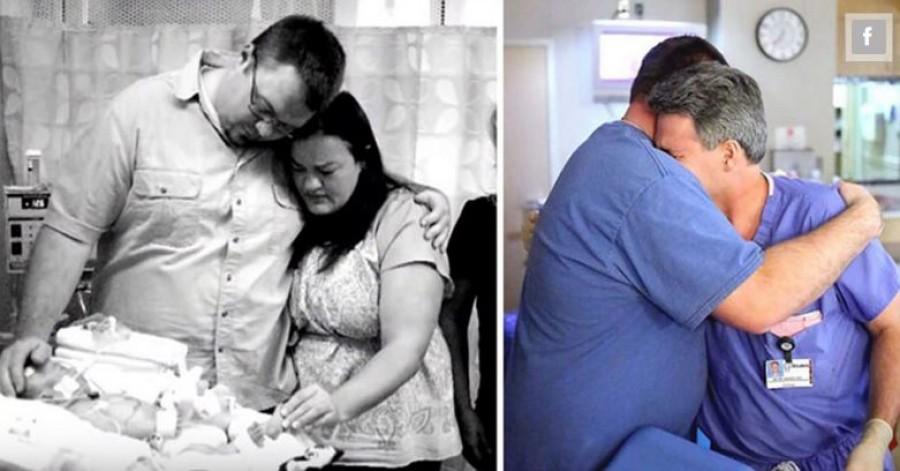 Két ölelés: az egyik a tragédiáé, a másik a reményé