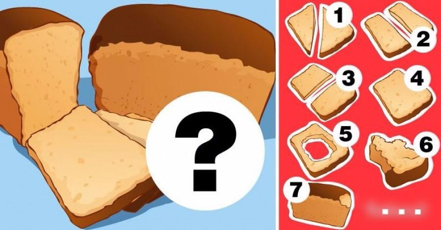 Hogy eszel meg egy szelet kenyeret? Nézd meg mit árul el a személyiségedről!