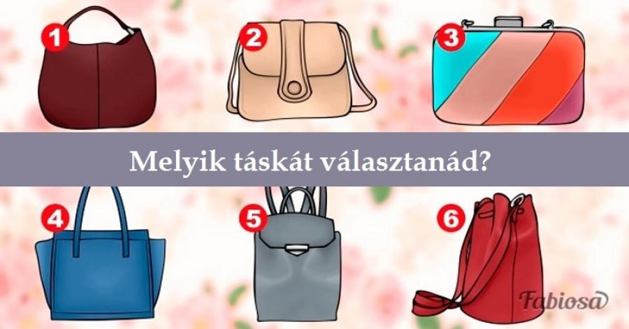 Te melyik táskát választanád? Személyiségteszt nőknek.