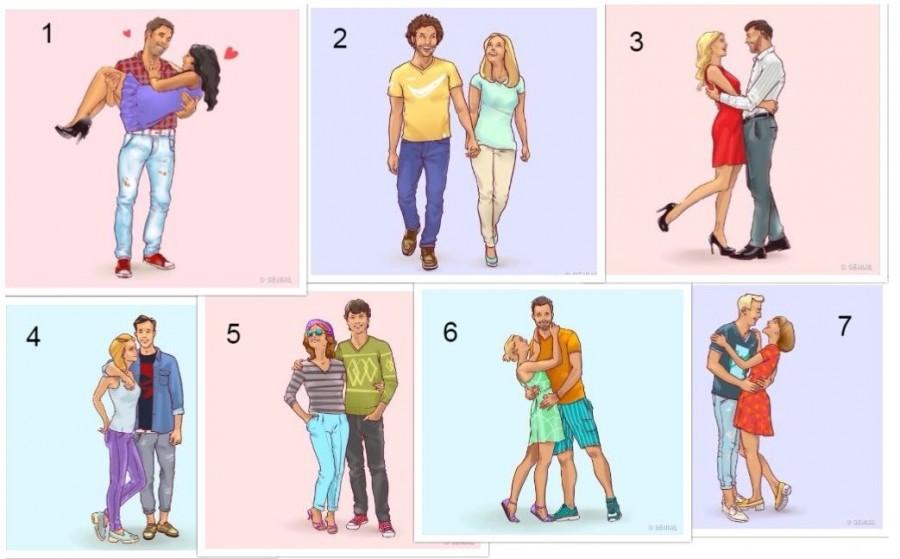 Látszólag mind a 7 pár boldog. De ki a legboldogabb?
