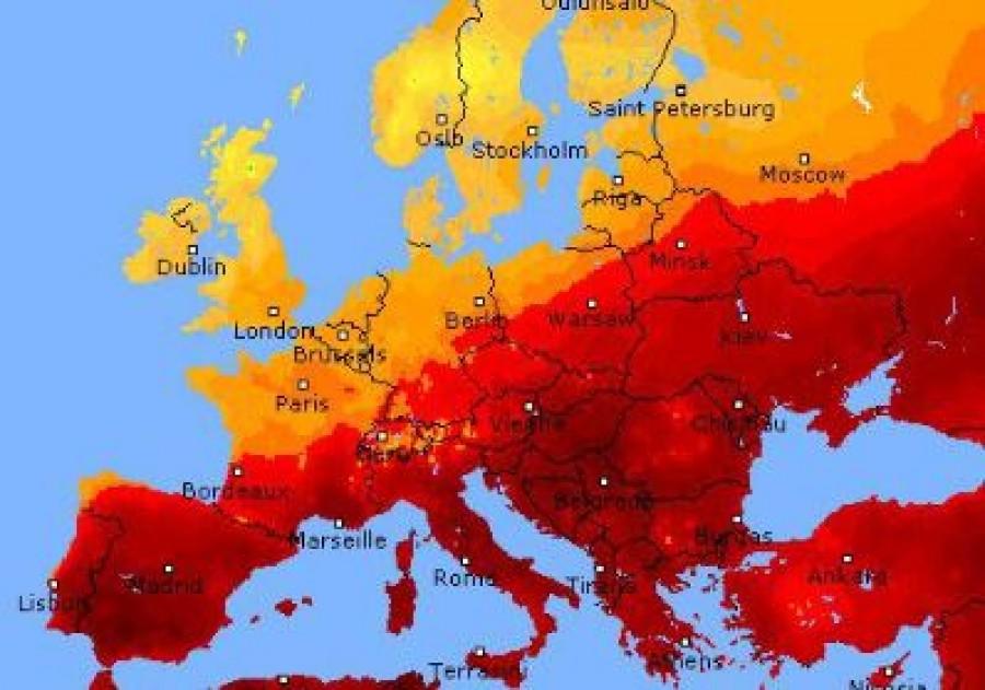 A Lucifer hőhullám egész Európát kikészíti: hétvégén 46 fok is lehet