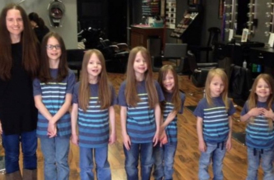 A 6 testvért csúfolták az iskolában a hosszú hajuk miatt – nézd meg mit tettek!