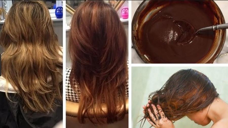 Hajfestés kávéval: természetes szín és nincs káros hatása