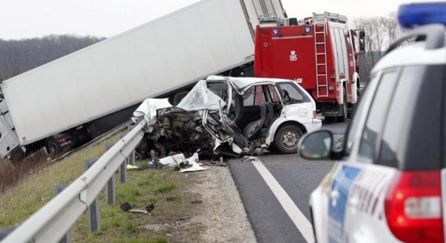Friss! Halálos baleset az M1-es autópályán.