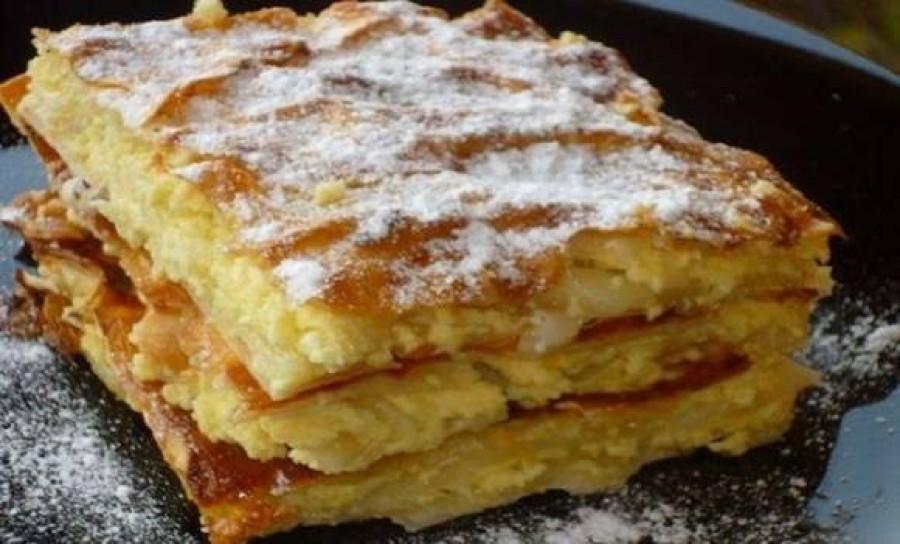 Első ránézésre nem is gondolnád, hogy ez egy isteni túrós süti!