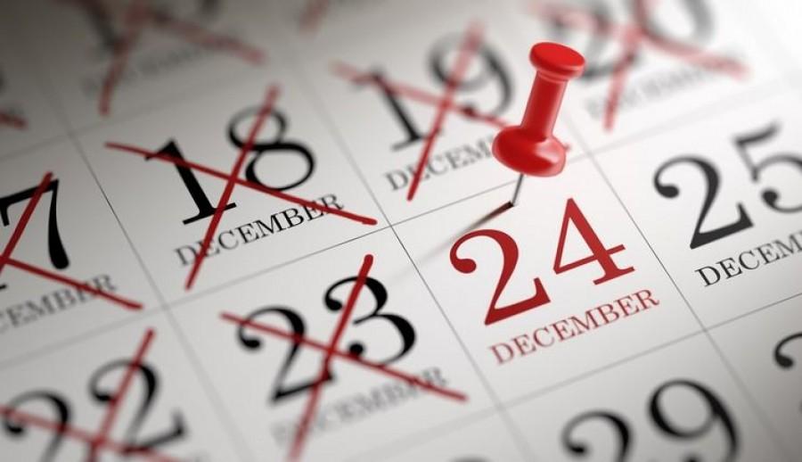 Döntöttek arról, hogy december 24-i munkaszüneti nap legyen-e