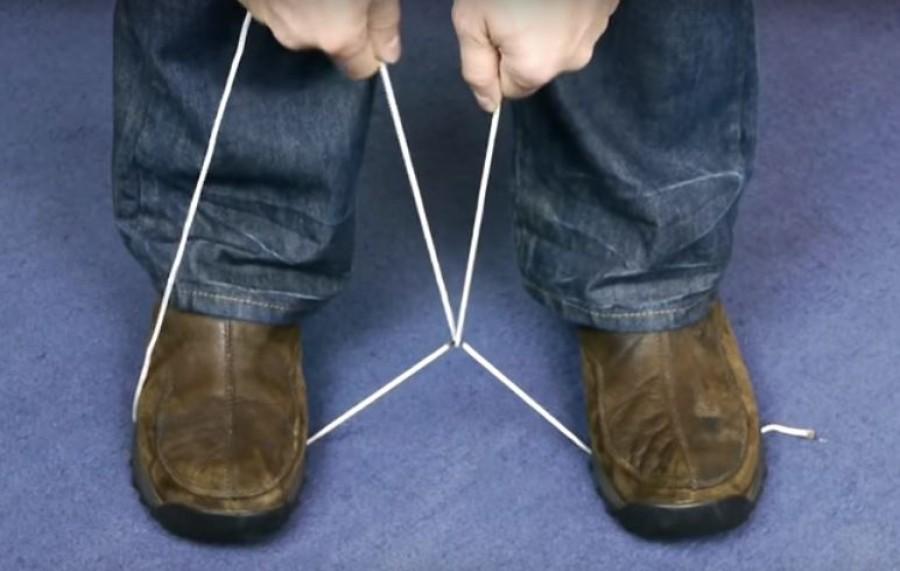 Olló és kés nélkül is könnyen el tudsz vágni egy erős zsineget ezzel az egyszerű módszerrel