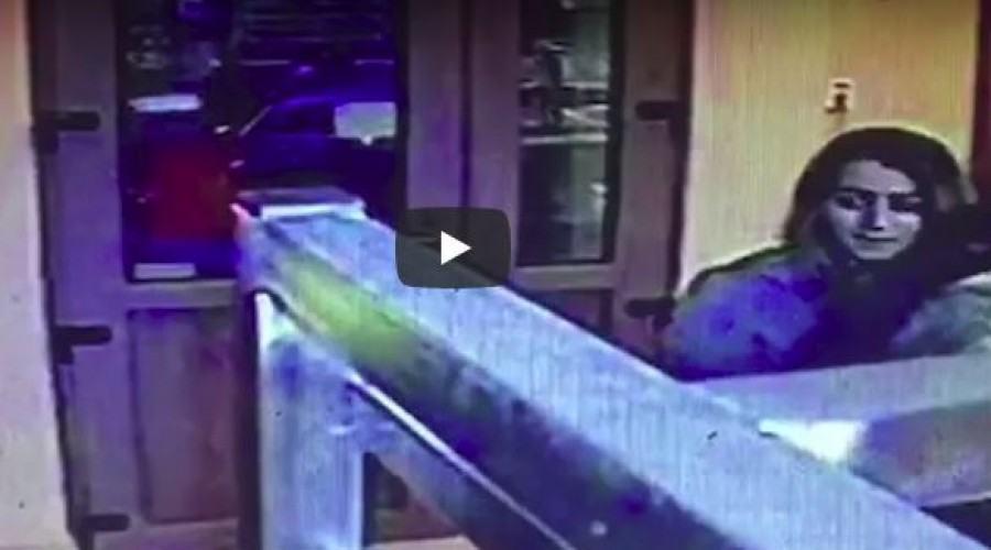 A lakosság segítségét kéri a rendőrség: pénztárcát lopott a 25 éves nő. Felvétel is készült róla.