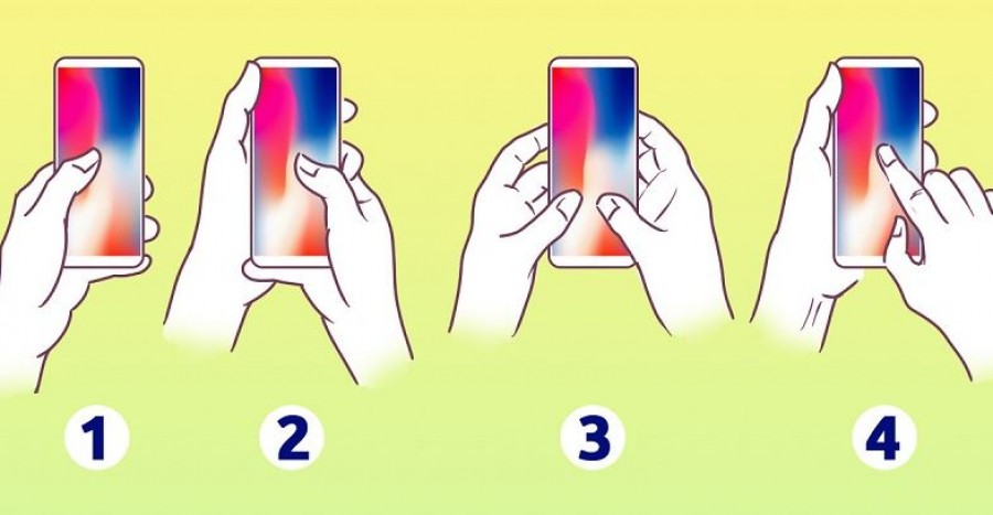 Ahogy a telefonodat tartod, megmutatja az igazi karakteredet!