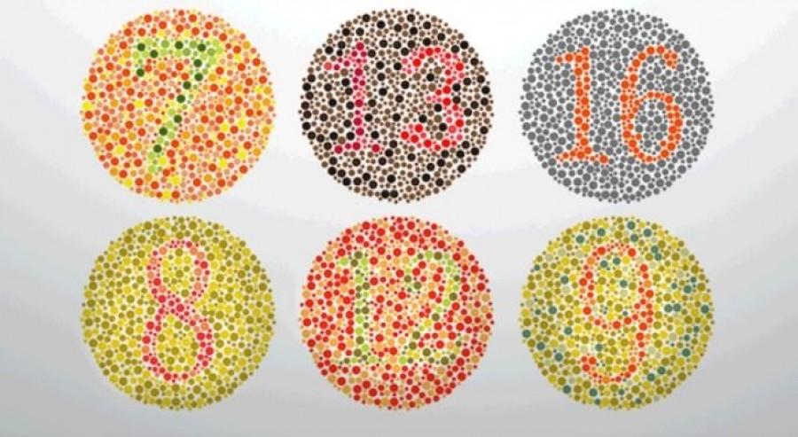 Nem mindegy, melyik számot látod a legélesebbnek a körökben!