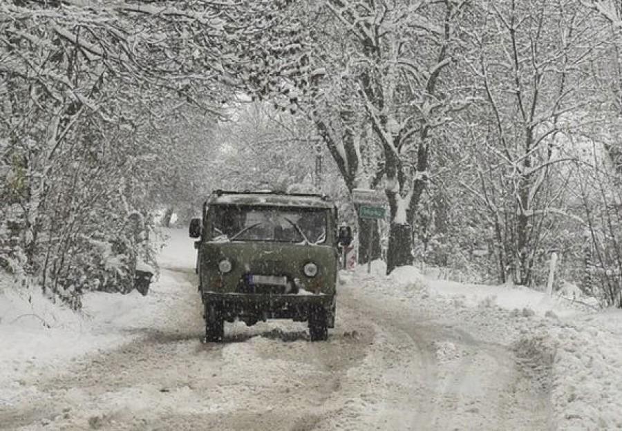 A havazás miatt az OMSZ és a rendőrség is figyelmeztetést adott ki