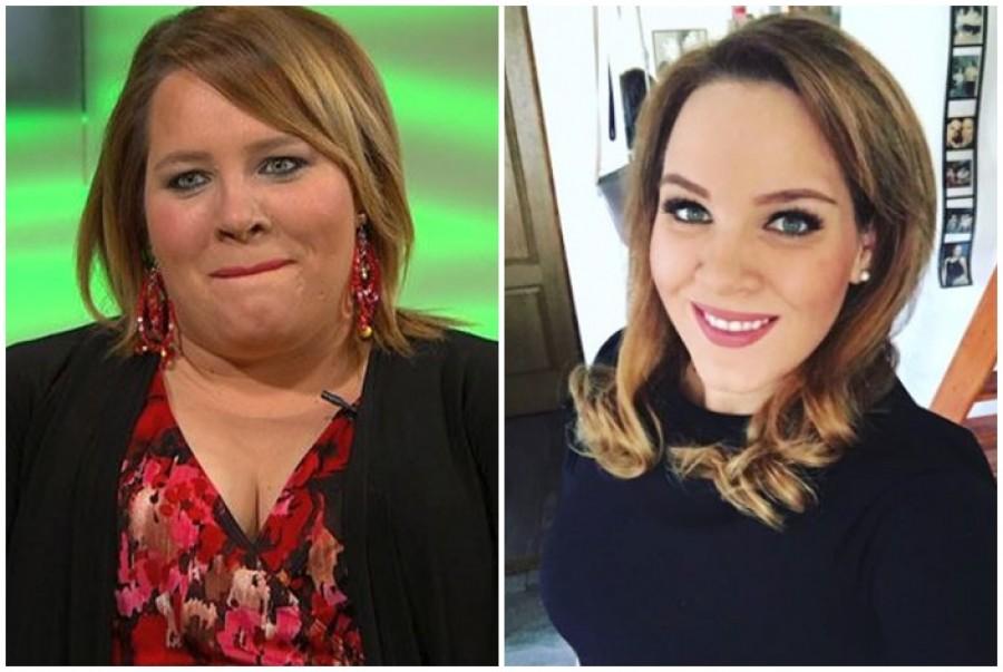 Tóth Vera megmutatta, milyen a hasa 50 kiló fogyás után!