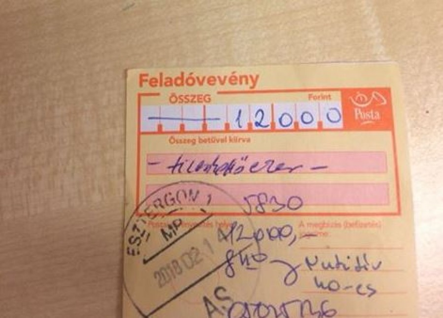 A háziorvos beutalta a gyereket vérvételre. 12 ezres csekket fizettettek be a szülővel