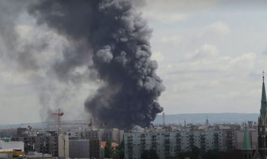 Ez lett a budapesti hatalmas tűz következménye
