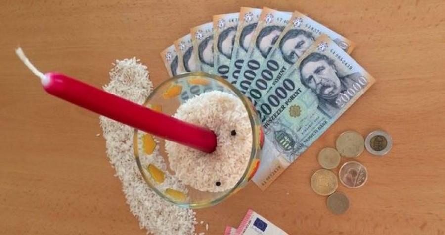 Pénz vonzó áldás - oszd meg, és hamarosan szerencse ér