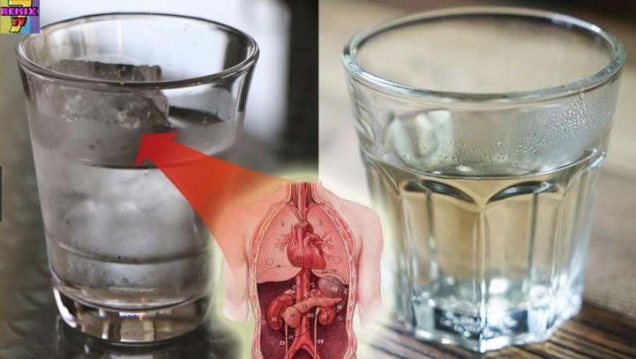 A kánikulában enyhén langyos és ne jéghideg vizet igyál