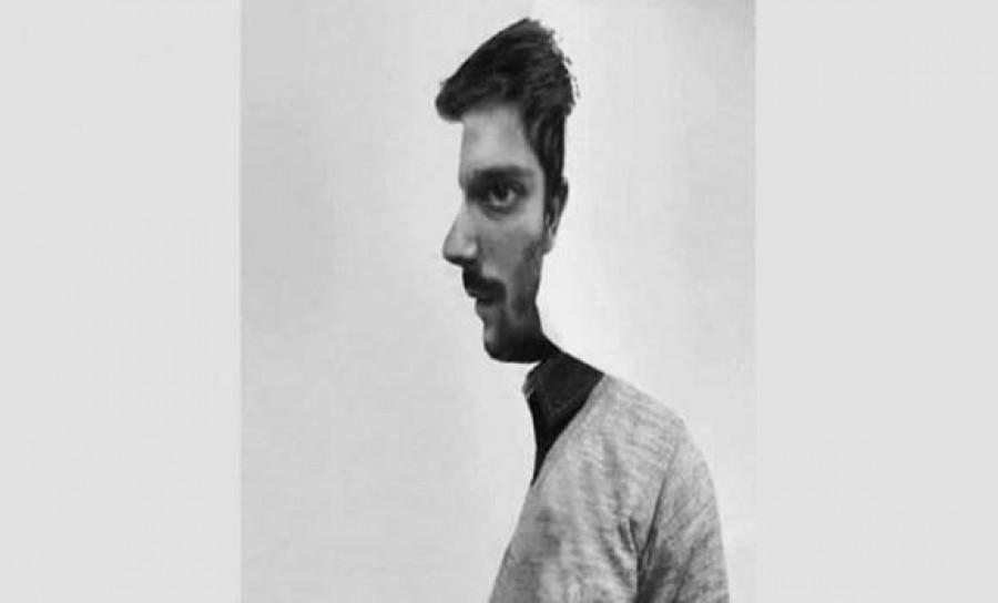Nézd meg jól ezt a képet: Ez a férfi előre néz, vagy oldalra?