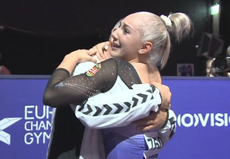 Hatalmas siker! 20 év után nyert aranyérmet Európa-bajnokságon magyar tornásznő.