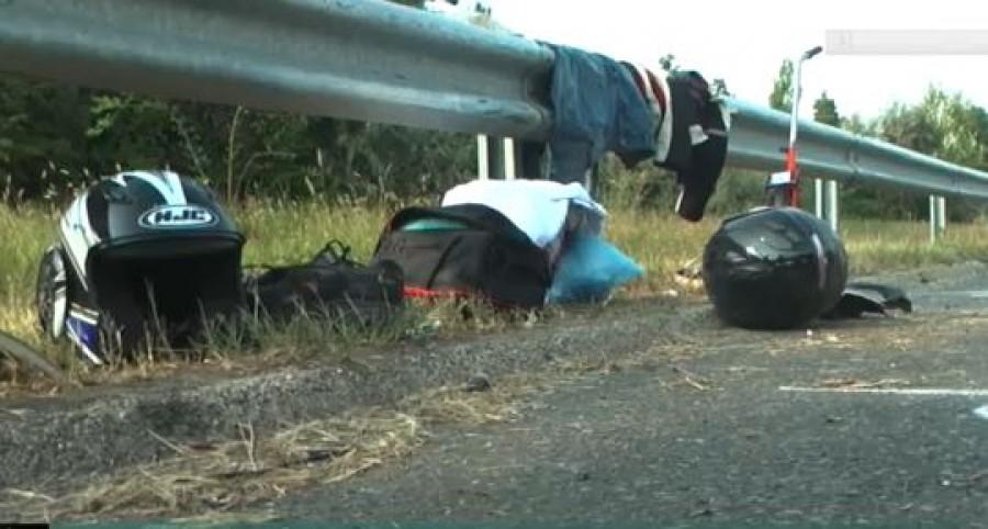 Tragédia az M7-esen: apa és 12 éves kislánya vesztette el az életét a balesetben