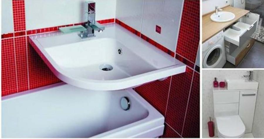 A legjobb fürdőszobai ötletek, ha szűkös a hely