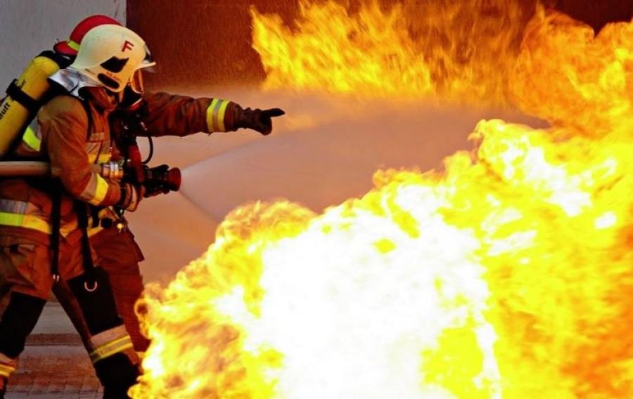 Friss hír a katasztrófavédelemtől: Lángokban áll egy üzem