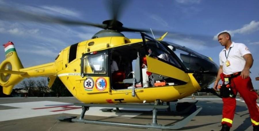 Korán reggel már mentőhelikoptert kellett hívni egy balesethez. Teljes útlezárás.
