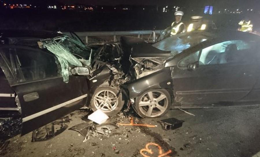 Még élhetne a vétlen autó utasa: részeg román férfi okozta az M0-ás horrorbalesetet